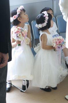 教会での挙式装花 しゃぼんだま カトリック豊島教会様へ : 一会 ウエディングの花