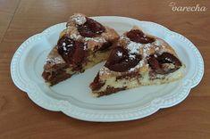 Vynikajúci slivkový koláčik (fotorecept) - recept   Varecha.sk Food, Basket, Essen, Meals, Yemek, Eten