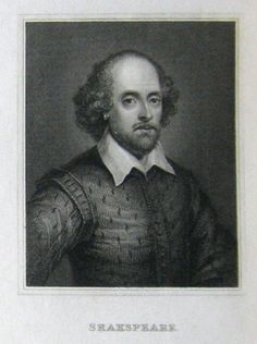This is William Shakespeare the man who wrote hamlet