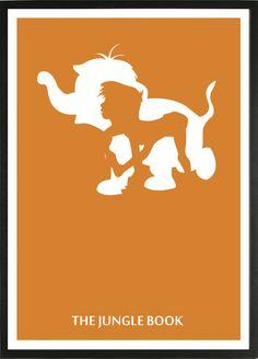 The Jungle Book [Wolfgang Reitherman, 1967] «Disney Minimalist Author: David D»