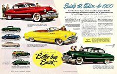 1950 Buicks