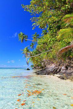 Samoa, Namua Island.