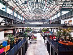 El estudio de arquitectura Macro Seafirma un espacio deoficinasen uno de los antiguos astilleros del puerto deBrooklyn:New Lab.