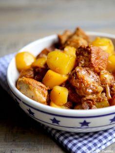 Sauté de veau au Pineau des Charentes et pommes de terre