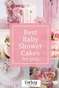 The prettiest Baby Shower cakes for girls from the most talented bakers all over the world. Get inspired with these stunning Baby Girl cakes. #babyshowercakes #girlbabyshowercakes #babyshowercakeforgirls #babyshowercakeideas #prettybabyshowercakes Amazing Baby Shower Cakes, Fancy Baby Shower, Baby Shower Fall, Shower Party, Baby Shower Parties, Baby Boy Shower, Baby Shower Advice, Baby Girl Shower Themes, Baby Shower Decorations