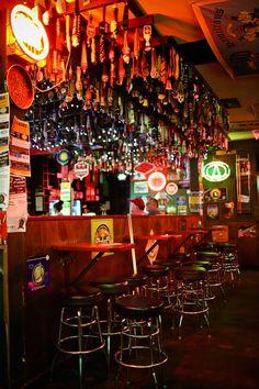 Hamilton Tavern - Most popular local bar in South Park San Diego - if you love hops, try their hop sausage! // localadventurer.com