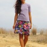 LAILAs flared skirt / jersey skirt pattern, sizes 158 – 42 (Kids M – women´s L) designed by Zierstoff Sewing Patterns. Fantastic project for beginners! Shop here: http://zierstoff.com/en/shop/patterns/patterns-teens-women/lailas-flared-skirt-jersey-skirt-sizes-158-womens-42-kids-m-womens-l/  Happy sewing! Joanna & Ilka