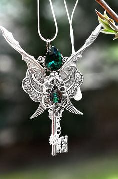 Dragon Lord Key Necklace by KeypersCove