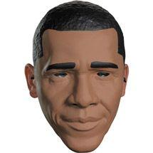 Presidential Obama Vacuform Adult Halloween Mask $8.87.
