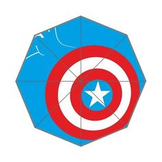 The Avengers Captain America Shields Custom Auto Foldable Umbrella Custom Umbrella http://www.amazon.com/dp/B0107V7D5G/ref=cm_sw_r_pi_dp_KyG3vb0M8R7W5
