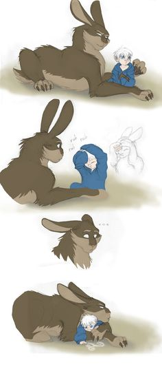 ROTG - Dark Pooka and Little Jack 2 by merrypaws on DeviantArt