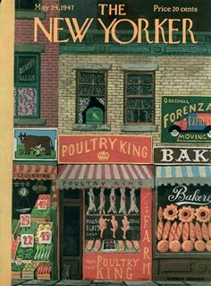 The New Yorker Digital Edition : May 24, 1947  ~Repinned Via Dianne Snider