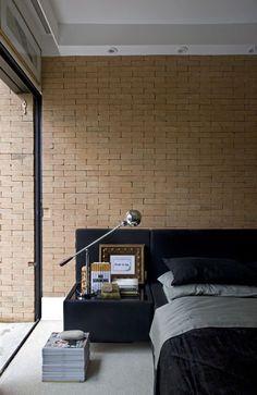 15 Quartos com tijolos à vista ( tijolos aparentes) - Jeito de Casa