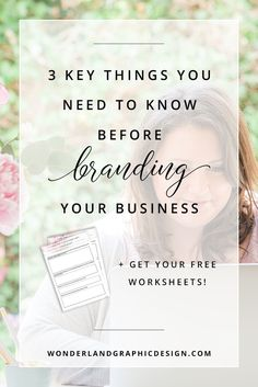 3 questions that will lead you to better, beautiful branding that represents your brand voice and values, reaching your ideal client and bring success to your business through brand design. These need to be considered before color palettes, fonts, mood boards, brand inspiration and logo design, and social media branding. Business tips, marketing advice for female creative entrepreneurs, bloggers and small business owners.