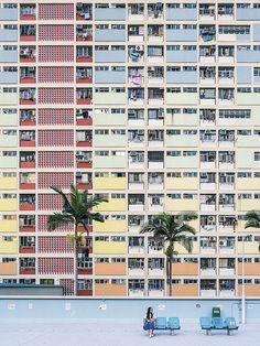 Choi Hung Estate, Hong Kong   by mikemikecat