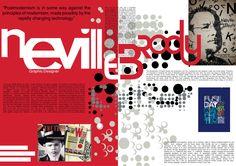 Image result for neville brody magazine design