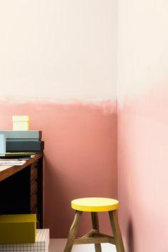 Copper Blush - Dulux Colour of the Year 2015 - Interior Ideas - Anna - Dulux Colour of the Year 2015 – Copper Blush - Decoration Inspiration, Interior Inspiration, Colour Inspiration, Interior Ideas, Room Colors, Wall Colors, Color Walls, Two Tone Walls, Copper Blush