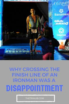 Why Crossing The Ironman Triathlon Finish Line Was A Disappointment Triathlon Motivation, Triathlon Gear, Ironman Triathlon, Bike Run, Finish Line, A 17, Disappointment, Iron Man, Documentaries