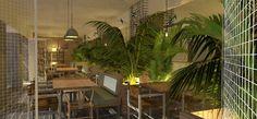 Diseño interior Restaurante.3 lao.studio
