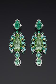 Dior earrings  💚💚💚💚