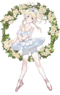 pictolita: Rosa Multiflora- Eli from lovelive! Added flowers to... ★ || CHARACTER DESIGN REFERENCES (www.facebook.com/CharacterDesignReferences & pinterest.com/characterdesigh) • Love Character Design? Join the Character Design Challenge (link→ www.facebook.com/groups/CharacterDesignChallenge) Share your unique vision of a theme every month, promote your art and make new friends in a community of over 20.000 artists! || ★