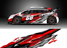 Similar Images, Stock Photos & Vectors of Racing car wrap design vector. Graphic abstract stripe racing background kit designs for wrap vehicle, race car, rally, adventure and livery - 1202191921 Auto Design, Car Stickers, Car Decals, Vehicle Decals, Vinyl Decals, Sky Car, Underwater Background, Racing Car Design, Design Vector