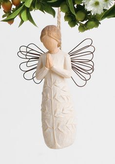 WillowTreeStore.com a tree, a prayer Ornament by Willow Tree
