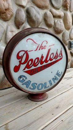 Peerless Oil & Refining Company Gas Globe