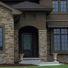 stucco and stone combinations - Google Search