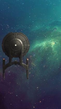 USS Phillips in the Hardcore Nebula Star Trek Wallpaper, Star Trek Generations, Star Trek Images, Star Trek Characters, Star Trek Series, Spaceship Art, Star Trek Starships, Star Trek Universe, Star Trek Enterprise