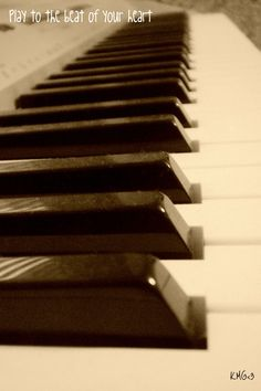 ♥ learn to play piano!