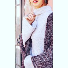 """COMING SOON: """"Marshmallow Fluff"""" oatmeal colored cozy knit sweater featuring a cowl neckline. #warmandcozy #sweaterweather #fallfashion"""