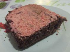 brownies aux pralines roses @Fait à la maison sur mon-assiette.com