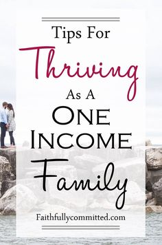 Ways to Save Money as a One Income Family - Single Mom Living - Ideas of Single Mom Living - If you want to start living on one income check out these suggestions and resources for saving money and thriving as a one income family! Living On A Budget, Family Budget, Frugal Living Tips, Frugal Tips, Debt Free Living, Frugal Family, Family Family, Frugal Meals, Simple Living
