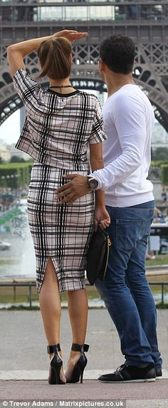 In a whirl: Clearly on could nine, the couple started dancing with each other in front of the Eiffel Tower  Read more: http://www.dailymail.co.uk/tvshowbiz/article-2381361/Chloe-Sims-whisked-romantic-mini-break-new-boyfriend-Joe-Fournier-cement-love.html#ixzz3cpfZpd2e  Follow us: @MailOnline on Twitter | DailyMail on Facebook