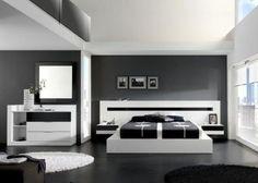 Muebles Camas Juegos De Dormitorio Modernos Matrimoniales - U$S 690,00 en MercadoLibre