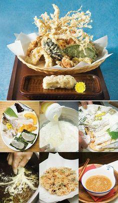 Gardening Tips November Korean Dishes, Japanese Dishes, Korean Food, Sushi Recipes, Asian Recipes, Cooking Recipes, K Food, Food For Digestion, Healthy Menu