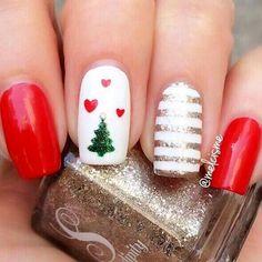 Best Christmas Nails for 2017 - 64 Trending Christmas Nail Designs - Best Nail Art