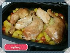 {Tupperware} Basque chicken in the ultra pro - Aglibouly Cooking Fresh Green Beans, Cooking With Olive Oil, Cooking Black Beans, Cooking Roast Beef, Cooking Turkey, Cooking Fish, Cooking Salmon, Turkey Recipes, Chicken Recipes