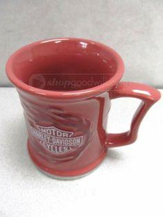 shopgoodwill.com: Harley Davidson Coffee Cup Mug by Russ 2009