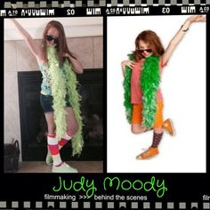 judy moody becomes famous favorite book character dress up day - Judy Moody Halloween Costume