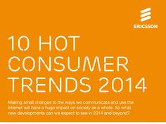 The 10 Hot Consumer Trends of 2014 [infographic - portrait]