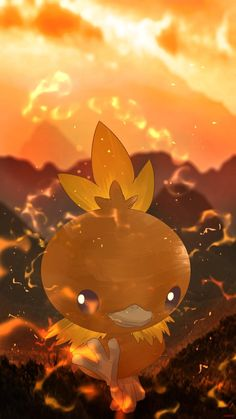 This is my lil Torchic. We're both aiming to get him evolved to a Blaziken in time before anything else, but he actually wants everyone else to go first! Sweet lik guy, aint he?