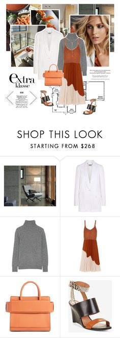 """""""""""All women speak two languages: the language of men  and the language of silent suffering.  Some women speak a third, the language of queens."""" ―Mohja Kahf, The Marvelous Women"""" by wildleopard ❤ liked on Polyvore featuring Anja, Givenchy, Equipment, Jason Wu, BCBGMAXAZRIA, Tacori, sweaterweather and Minimaliststyle"""