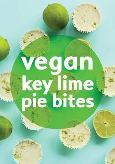Easy vegan dessert with a kick of lime.