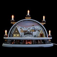 Candle Arch Mettenschicht - limited by Klaus Kolbe (57x40x12,5cm/22.5x15.5x5.0in) by Klaus Kolbe