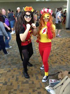 Kid flash cosplay