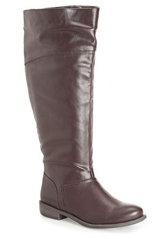 Plus Size Maren Tall Lace Back Boot Riding Boots Love them!