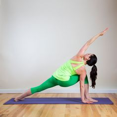 Pin for Later: Skip Bikram and Try This Heat-Building Sequence Instead Extended Side Angle