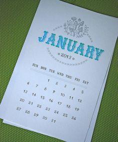 Lombardo Printable Desk Printable Calendar Set INSTANT by govango